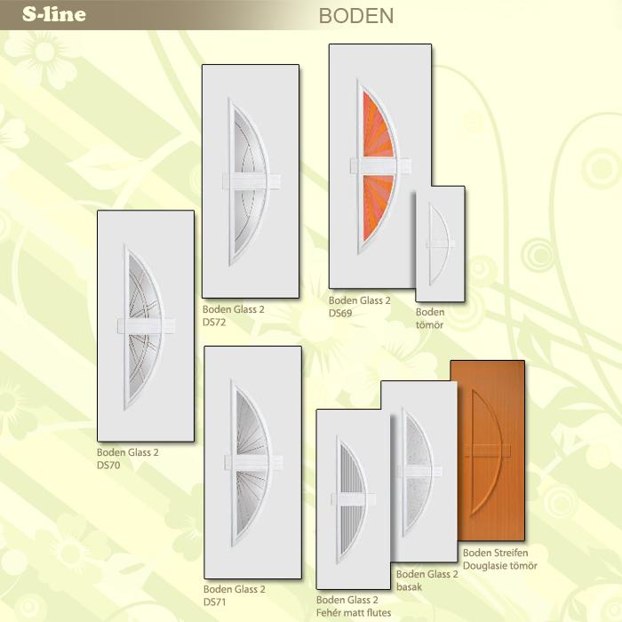S-line Boden műanyag ajtó