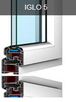 Iglo 5 műanyag ablak profil