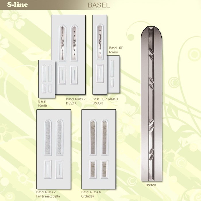 S-line Basel műanyag ajtó