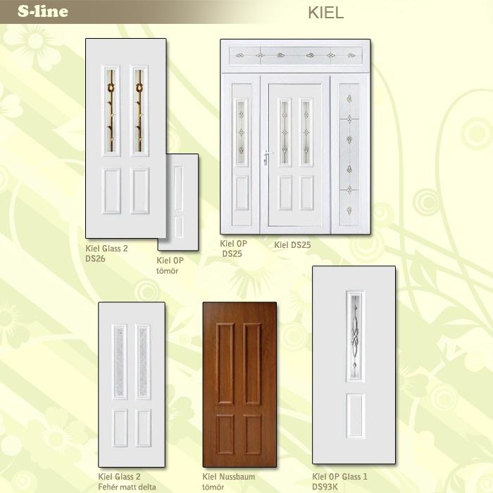 S-line Kiel műanyag ajtó