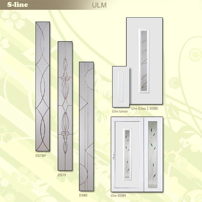 S-line Ulm műanyag ajtó