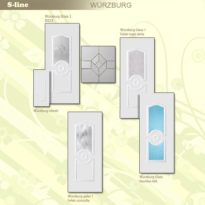 S-line Würzburg műanyag ajtó
